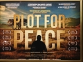 Plot for Peace poster at the London Première